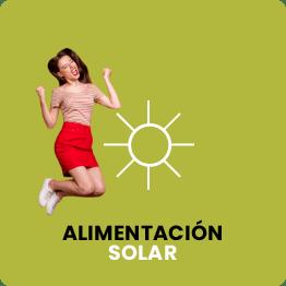 Alimentación solar para las automatizaciones