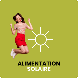 Alimentation solaire pour les automatismes